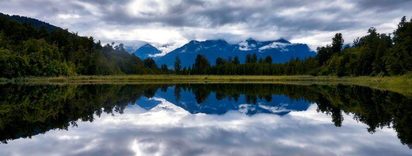 Odissea inspiratie Perfecte reflectie (Late Matheson, New Zealand)